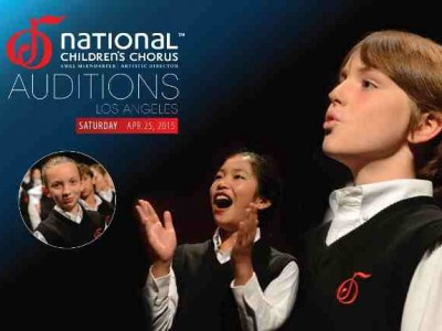 The National Children's Chorus Is Holding Auditions