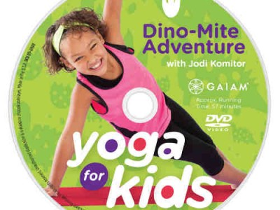 Yoga for Kids: Gaiam Releases a New DVD Series
