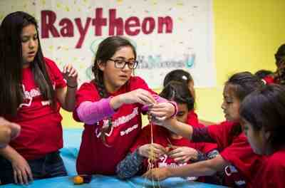 Raytheon to Help Children of Military Families