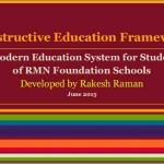 Constructive Education Framework