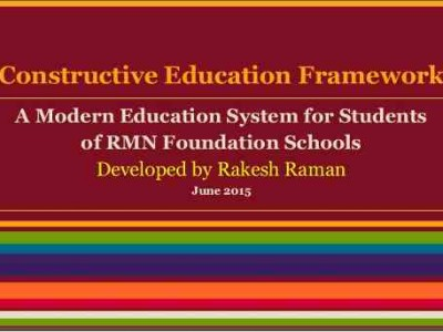 Constructive Education Framework for Students in India
