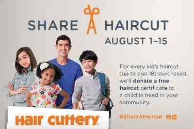 Share-A-Haircut Program to Benefit Children in Need