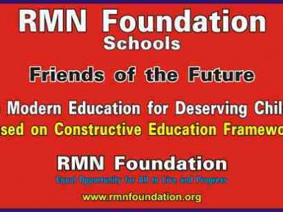 RMN Foundation Opens Its First Free School in New Delhi
