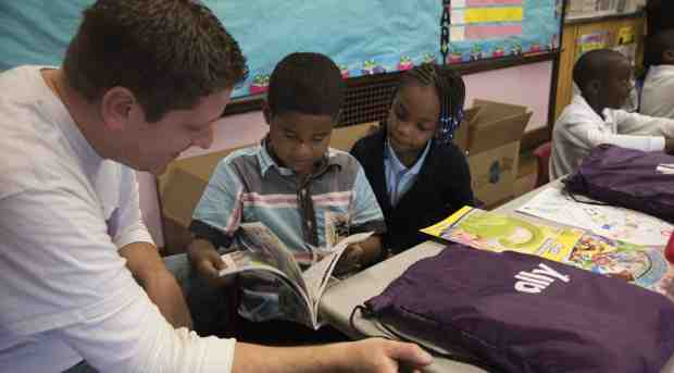 Ally Donates Books to Teach Financial Literacy Concepts
