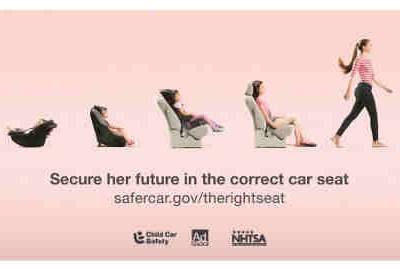Child Passenger Safety Week: New PSA Campaign