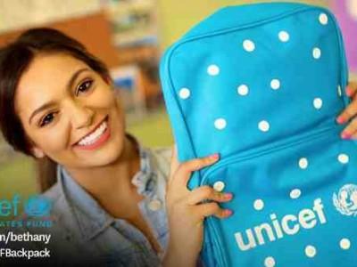 YouTube Star Bethany Mota Helps Kids Go Back to School