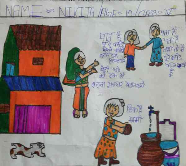 Illustration about Dengue by 10-year-old Nikita