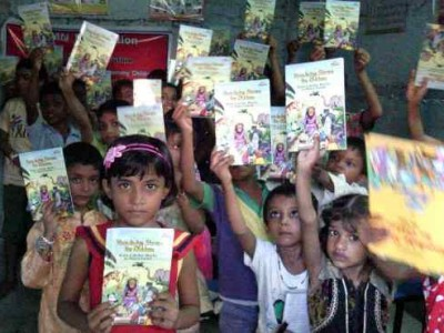 Clean India: RMN Foundation School Kids Say with Artwork