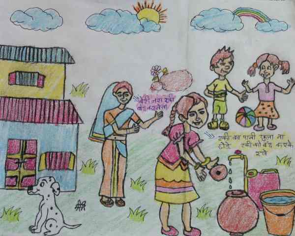Illustration about Dengue by 11-year-old Saphina