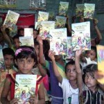 Kids Attending RMN Foundation School in New Delhi, India