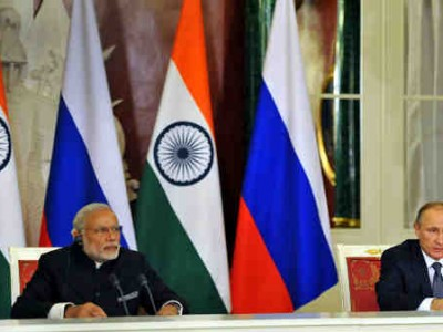 Narendra Modi Visits Russia; Promises Jobs for Students