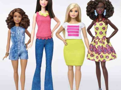 Barbie Adds Three New Body Types to Its Doll Line