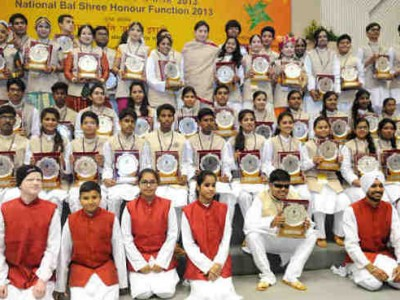 Indian Children Receive National Bal Shree Awards