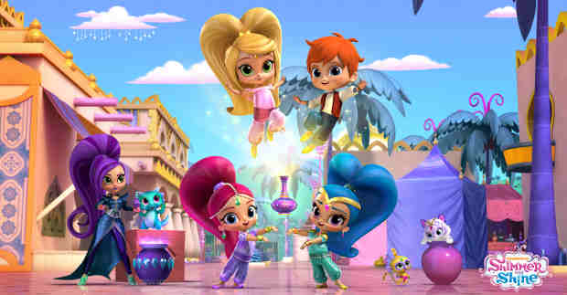 Animated Preschool Series Shimmer and Shine