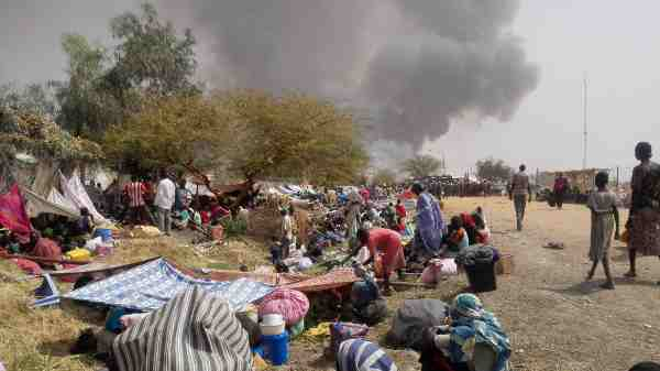 Children Left Homeless After Violence in South Sudan