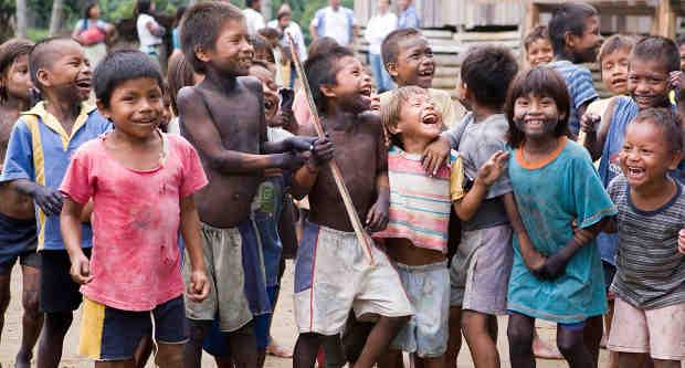Internally displaced children, victims of conflict in Colombia. UN Photo / Mark Garten