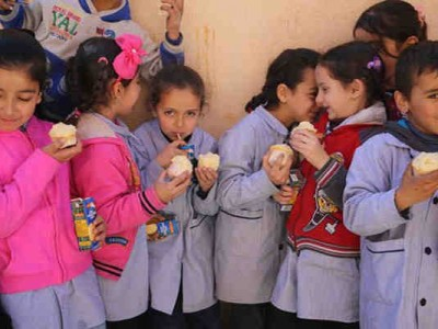 School Meals Programme for Lebanese and Syrian Children