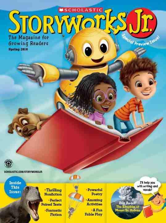 Storyworks Jr. Classroom Magazine