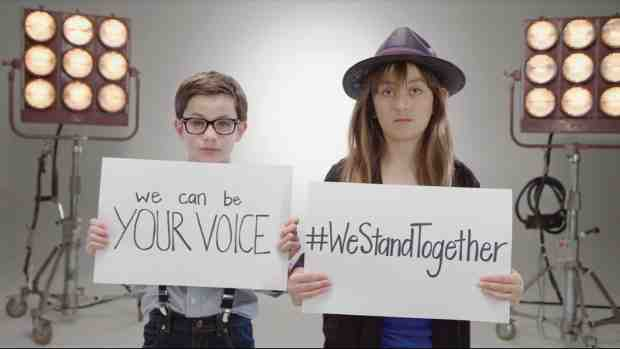 #WeStandTogether Lip Sync Challenge to Fight Child Abuse