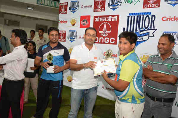 Sehwag Cricket Academy's Cricket League for Children