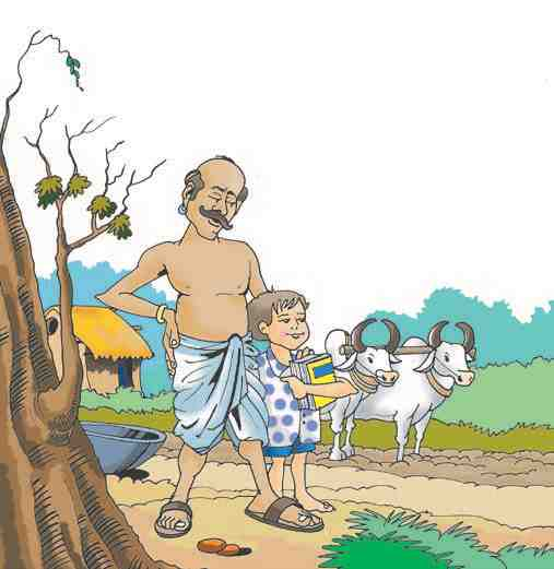 The Flying Letter - Bholu and Ramu in their vilage