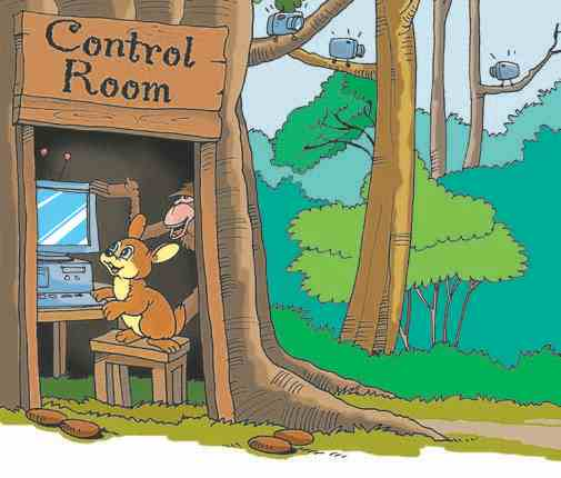 Sitavan and the Hunters: Control Room in the forest