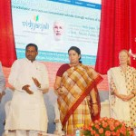 The Union Minister for Human Resource Development, Smriti Irani, launching the 'Vidyanjali' (School Volunteer Programme) in New Delhi on June 16, 2016