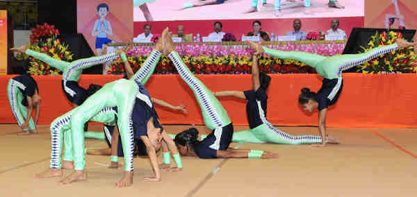 Yoga for School Children. Photo: PIB