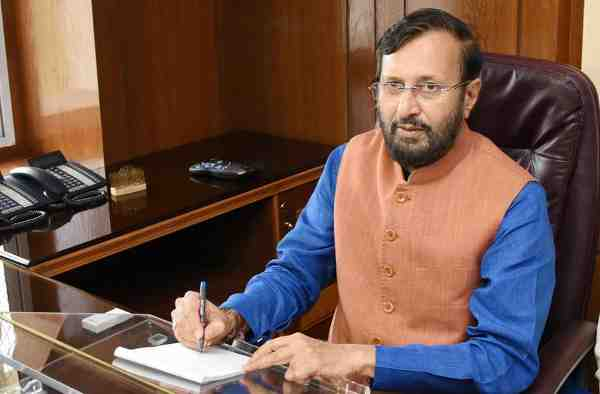 India's Human Resource Development (HRD) Minister, Prakash Javadekar