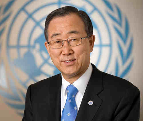 UN Secretary-General, Ban Ki-moon