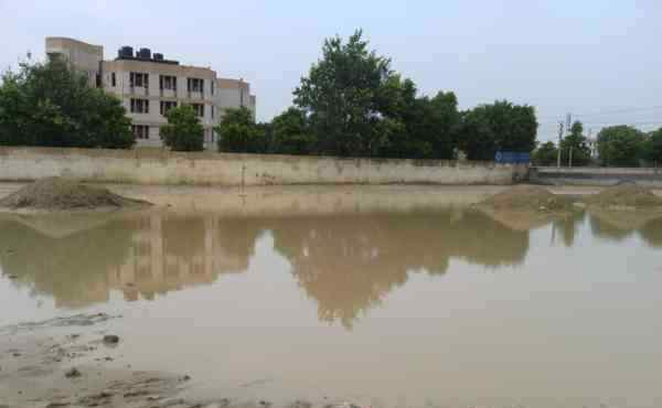 A Government School Building in New Delhi. Photo: Rakesh Raman
