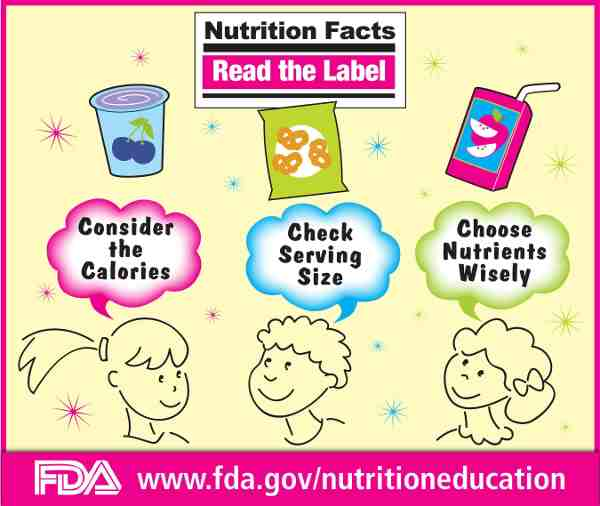 FDA Helps Kids Make Healthy Dietary Choices