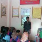 Students at the RMN Foundation Free School in New Delhi