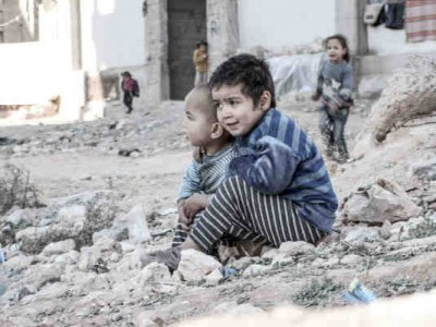 Children Need Education and Psychosocial Support in Syria