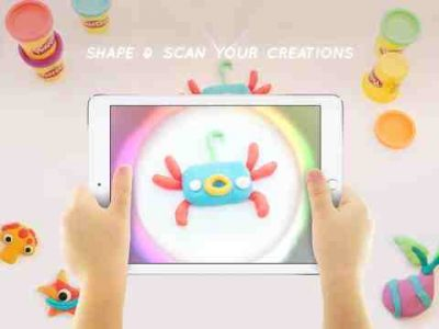 Hasbro Play-Doh Touch App Comes for Creative Kids