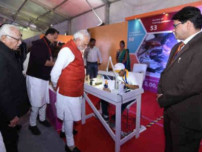 Narendra Modi Unveils First Indian Institute of Skills