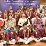 Narendra Modi Presents Bravery Awards to Children