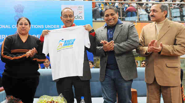 Vijay Goel inaugurated the Khelo India National Level Competitions, in New Delhi on January 15, 2017