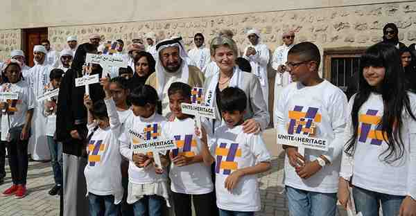 UNESCO Launches #Unite4Heritage for Young Citizens in Sharjah
