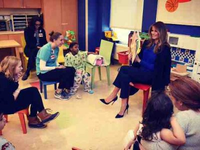 Education Is a Great Equalizer: First Lady Melania Trump