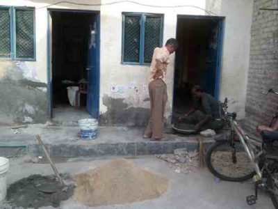 Renovation Time at RMN Foundation Free School for Children