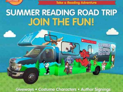 Scholastic Launches Summer Reading Challenge and Reading Road Trip
