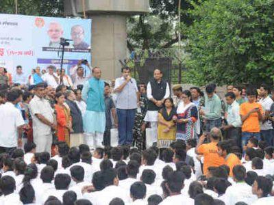 5000 Youth from Delhi Participate in Slum Yuva Daud
