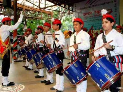 Delhi Hosts Inter School Band Competition