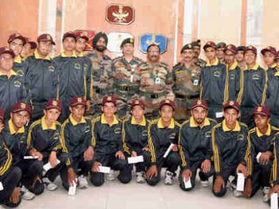 Indian Army Organizes National Integration Tour for Students