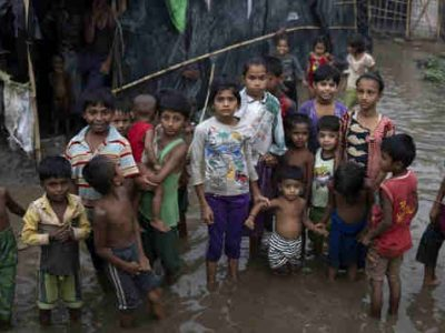 Rohingya Refugee Children Face Deadly Monsoon Rains