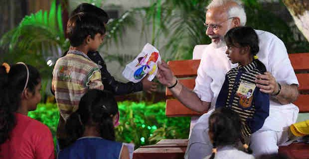 PM Narendra Modi to School Children: Ask Questions