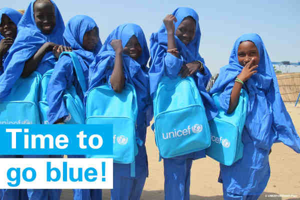 UNICEF says it wants to build a world where every child is in school and learning, safe from harm, and able to fulfill their potential.