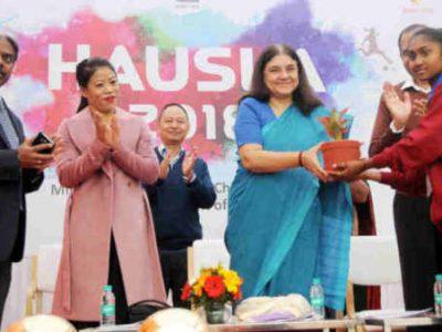 Hausla Sports Meet for Children Concludes in Delhi