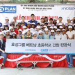 Hyosung completed a project to renovate an elementary school in a village in Kon Plong District, Kon Tum Province in the central part of Vietnam on April 23.